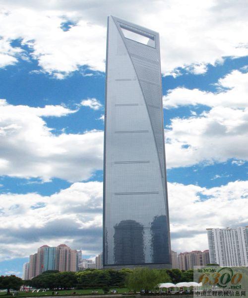 蒂森克虏伯电梯在中国最高大楼,高492米的上海环球金融中心安装世界最